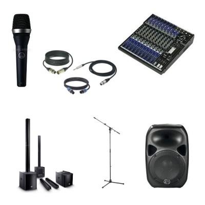 PA, Kabel, Recording