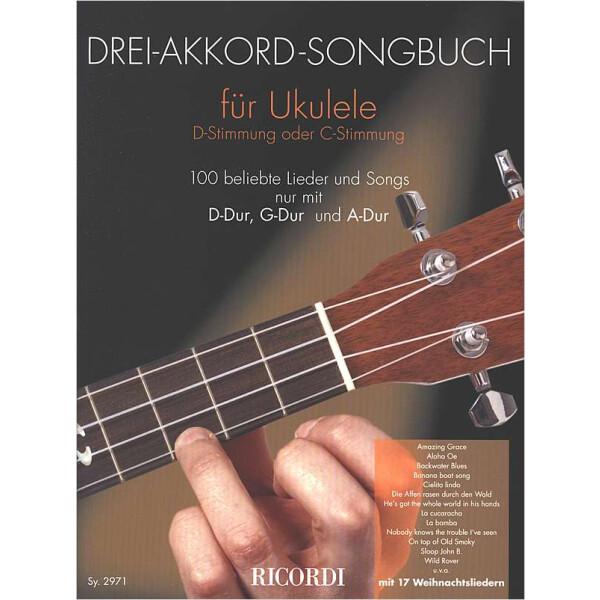 Drei-Akkord-Songbuch für Ukulele - Hal Leonard, 11,99 €