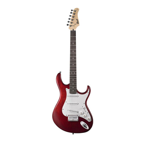 Cort G100 Junior Open Pore Black Cherry Mikro E-Gitarre