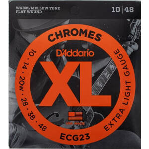 Daddario Jazz-Gitarrensaiten Extra Light Chromes 010-048